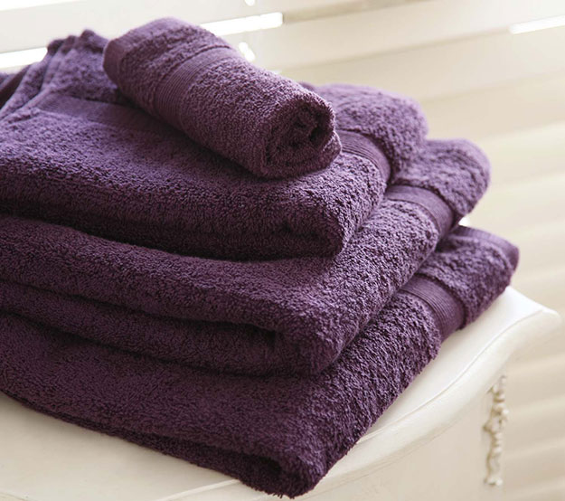 Purple-Towels