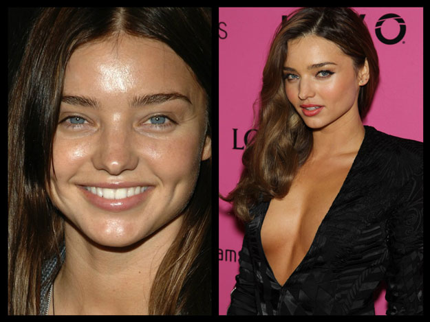 Source: mirandakerr.coverhable.com & thestarfish.com.au