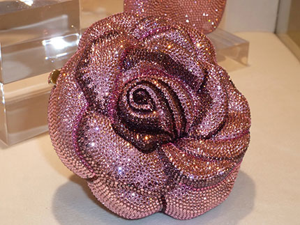 Leiber Precious Rose Bag by Judith Leiber