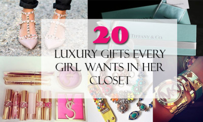 20 Luxury Gifts Every Girl Wants in Her Closet