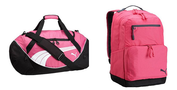 Puma Gym Bags In Pink
