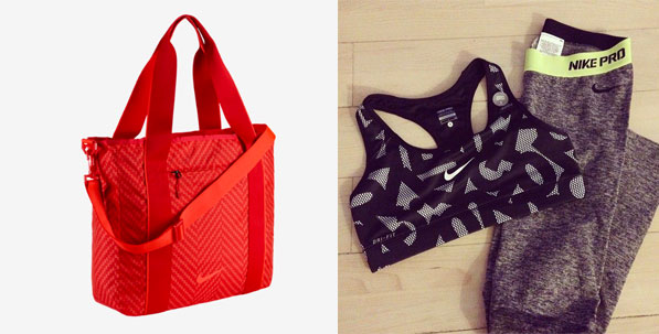 Red Gym Bag By Nike