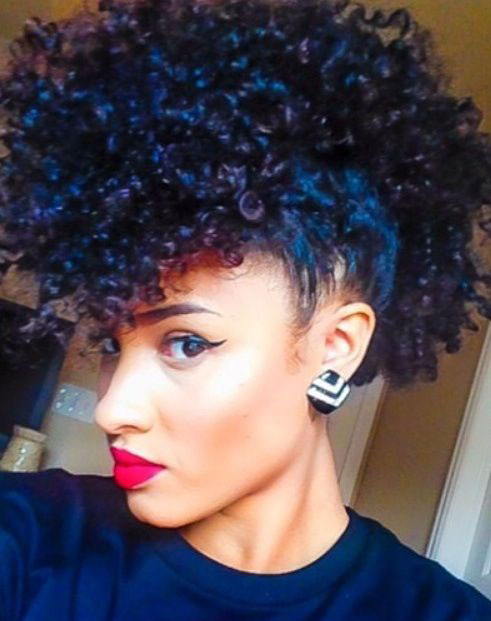 Enjoyable 50 Mohawk Hairstyles For Black Women Stayglam Short Hairstyles Gunalazisus