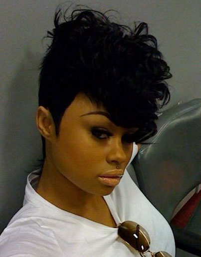 Awe Inspiring 50 Mohawk Hairstyles For Black Women Stayglam Short Hairstyles For Black Women Fulllsitofus