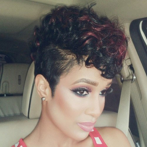 Brilliant 50 Mohawk Hairstyles For Black Women Stayglam Short Hairstyles Gunalazisus