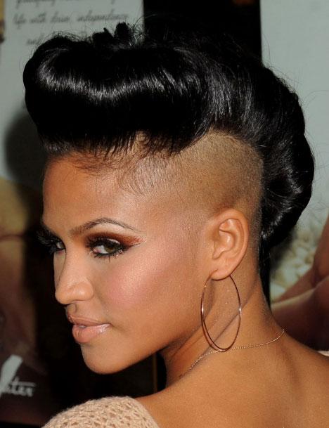 Phenomenal 50 Mohawk Hairstyles For Black Women Stayglam Short Hairstyles For Black Women Fulllsitofus