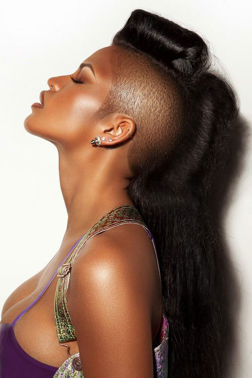 Tremendous 50 Mohawk Hairstyles For Black Women Stayglam Hairstyle Inspiration Daily Dogsangcom