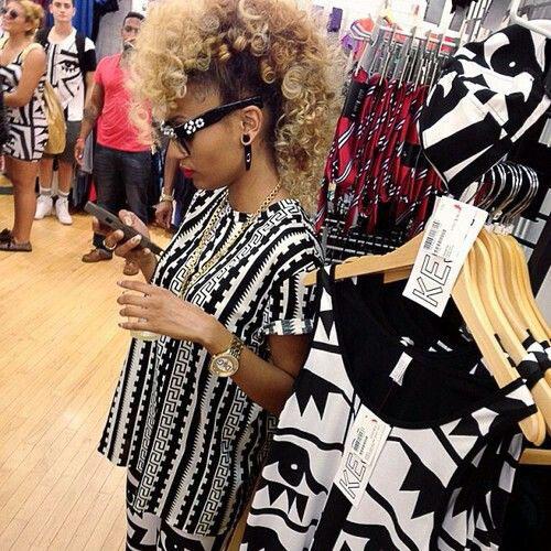 Fine 50 Mohawk Hairstyles For Black Women Stayglam Hairstyles For Women Draintrainus