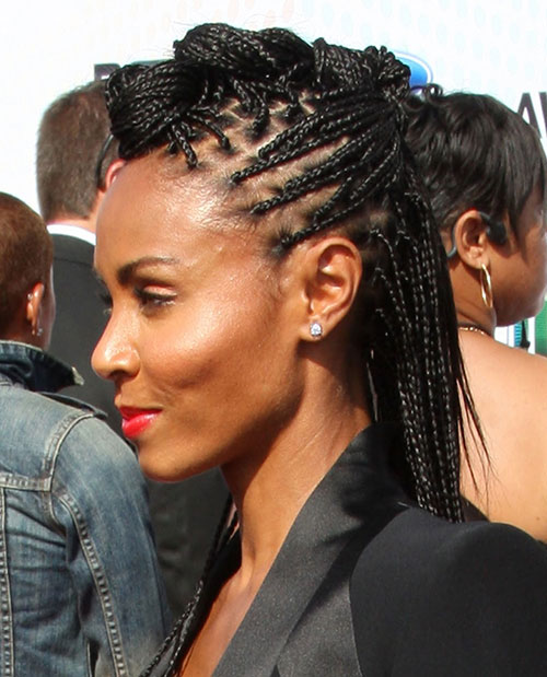 Stupendous 50 Mohawk Hairstyles For Black Women Stayglam Hairstyle Inspiration Daily Dogsangcom
