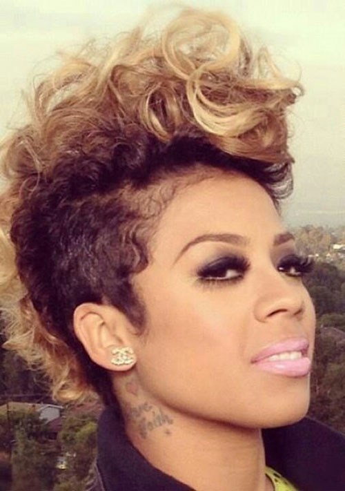 Groovy 50 Mohawk Hairstyles For Black Women Stayglam Short Hairstyles For Black Women Fulllsitofus