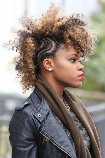 Enjoyable 50 Mohawk Hairstyles For Black Women Stayglam Hairstyle Inspiration Daily Dogsangcom