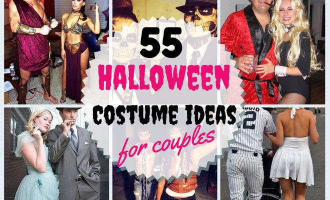 55 halloween costume ideas for couples stayglam - Famous Duos Halloween