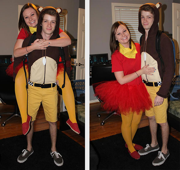 banjo kazooie couple halloween costume