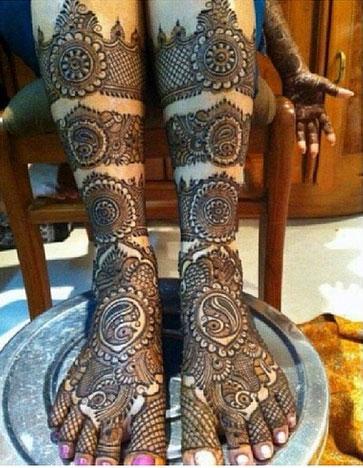 Top 50 Foot Henna Designs Stayglam