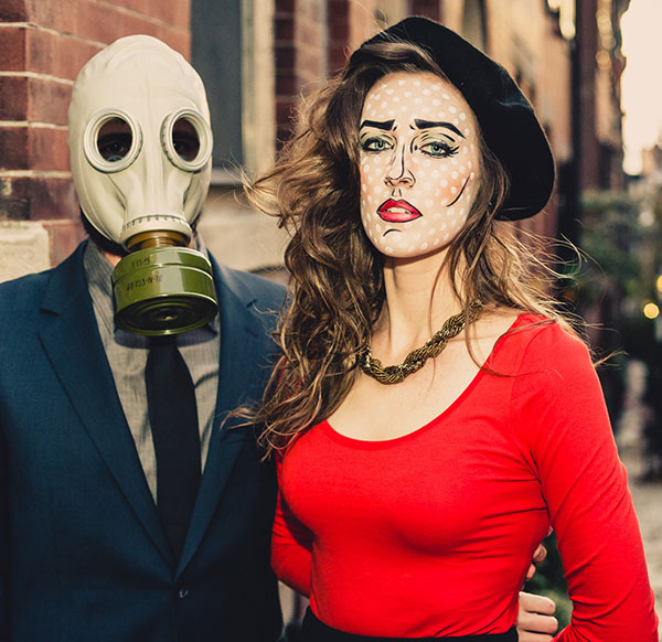Pop Art Couple Costume. Source reddit.com  sc 1 st  StayGlam & 55 Halloween Costume Ideas for Couples |StayGlam