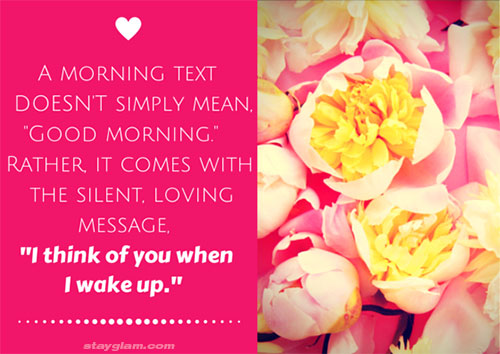 50 cute good morning texts stayglam cute good morning text for him m4hsunfo