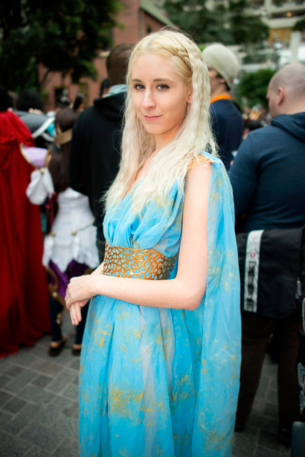 Photo by Martin Wong  sc 1 st  StayGlam & How to: Daenerys Targaryen Halloween Costume | StayGlam