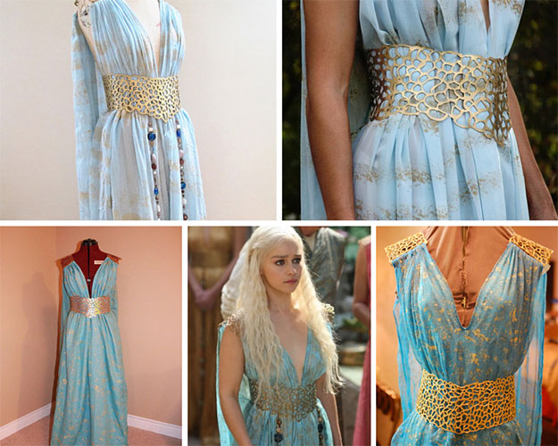 Daenerys Qarth Look Costume