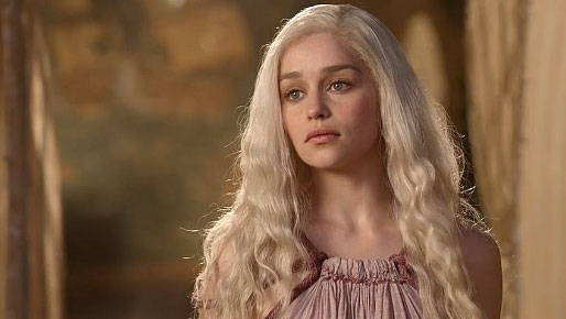 Daenerys in Pentos Hairstyle