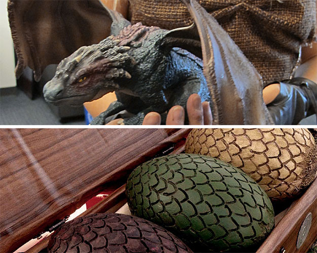 Dragon and Dragon Eggs for Halloween Costume