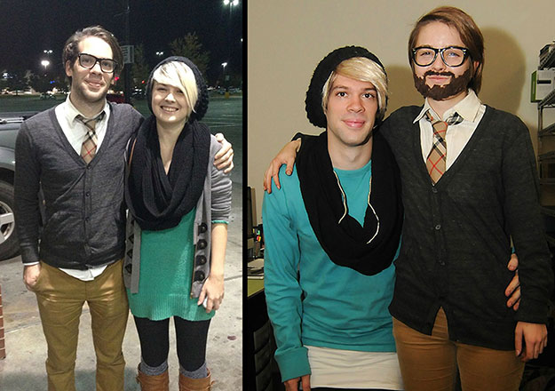 Easy Couple Halloween Costume