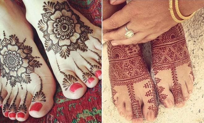 b4204b036 Top 50 Foot Henna Designs | StayGlam