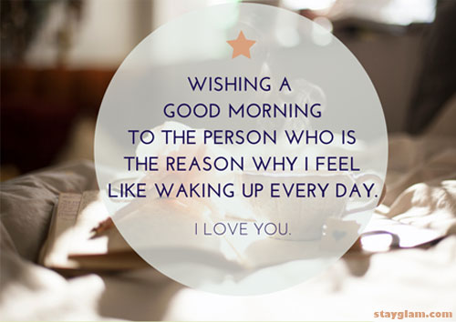 30 Beautiful Good Morning Quotes For Him: 50 Cute Good Morning Texts