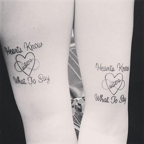 69 Heart Warming Sister Tattoo Ideas Stayglam