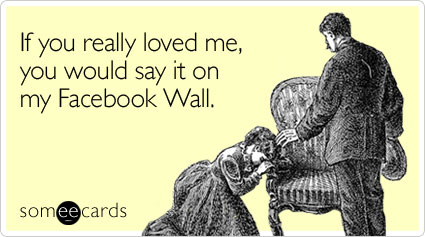 If You Really Loved Me Facebook eCard