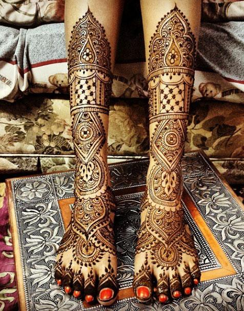 Multiple Mandala Henna Design