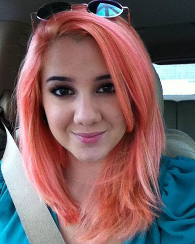 Medium Light Red Hairstyle