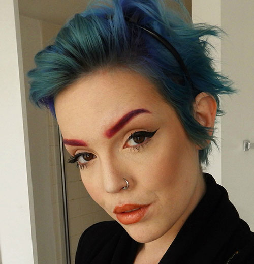 green hair styles hairstyles on undercut and 5445