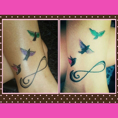 c63a2867b 69 Heart-Warming Sister Tattoo Ideas | StayGlam