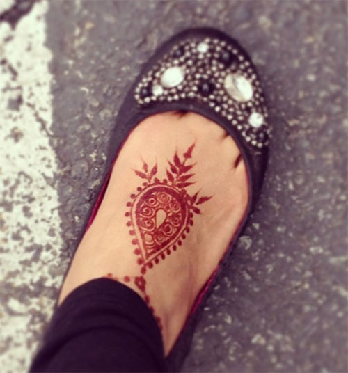 Mehndi Designs For Feet Simple : Top foot henna designs stayglam