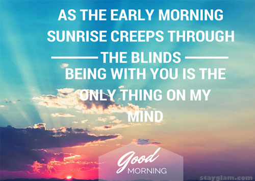 Sunrise Love Quote