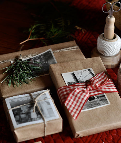 18 brown paper christmas gift