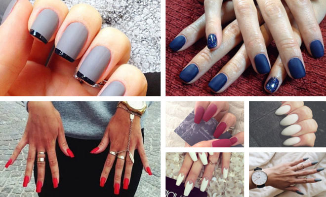fall 2014 nail trend matte nails page 2 of 2 stayglam