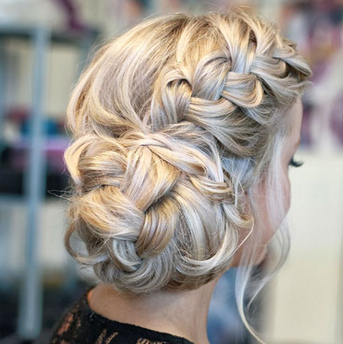 Side French Braid Bun. If You Have Long Hair ...