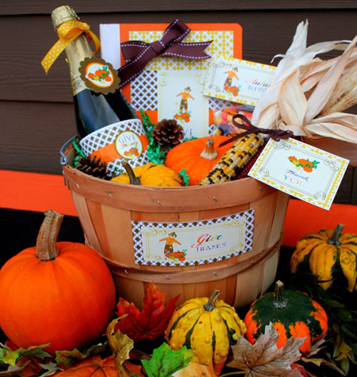 How to: Thanksgiving Gift Baskets | StayGlam