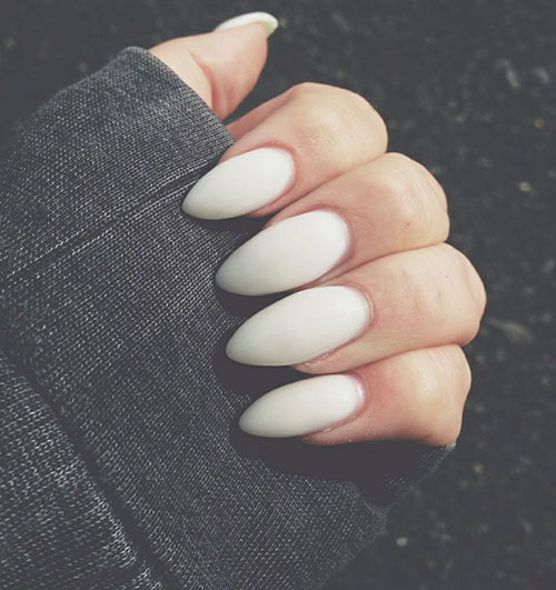 White Matte Nails | www.pixshark.com - Images Galleries ...