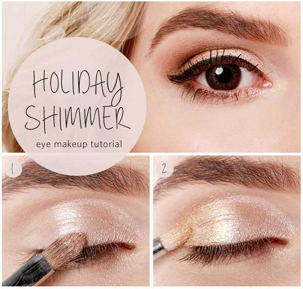 13 Cute Diy Holiday Makeup Ideas Stayglam