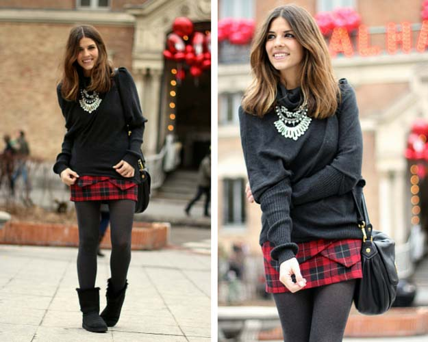 superb uggs and skirt outfit size