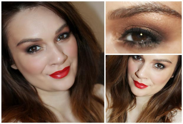 Step By Step Christmas Makeup Tutorial