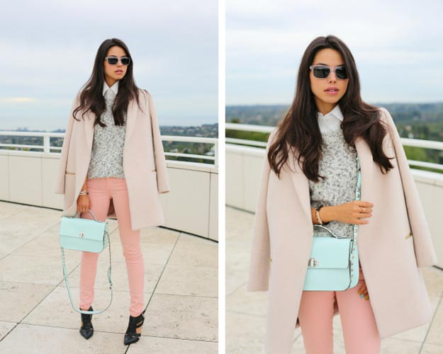 Winter Pastel Outfit Idea