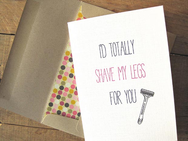 I'd Totally Shaved My Legs for You