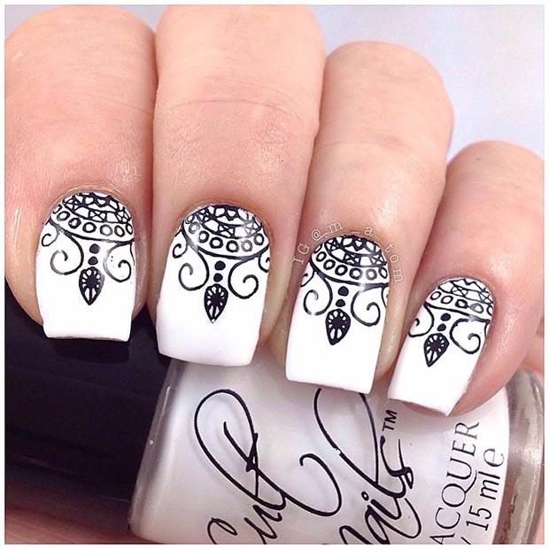 Stamped Nail Design