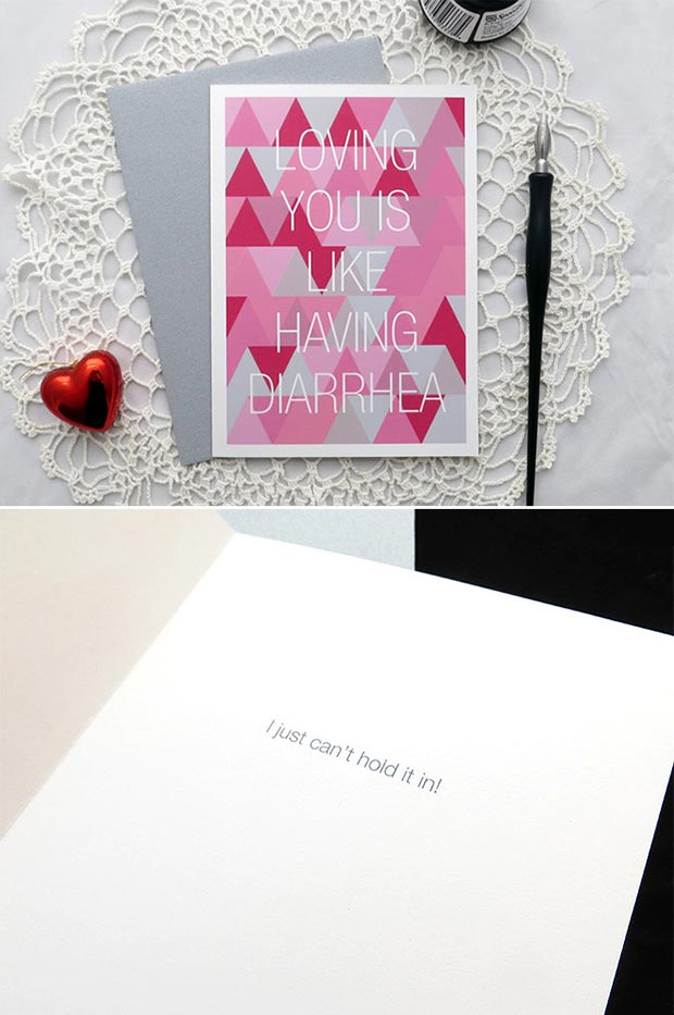 Loving You is Like Valentines Day Card
