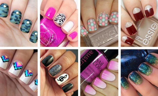 80 nail designs for short nails stayglam prinsesfo Gallery
