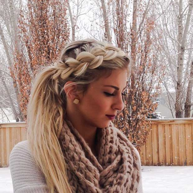 Wondrous 30 Cute Ponytail Hairstyles You Need To Try Stayglam Short Hairstyles For Black Women Fulllsitofus