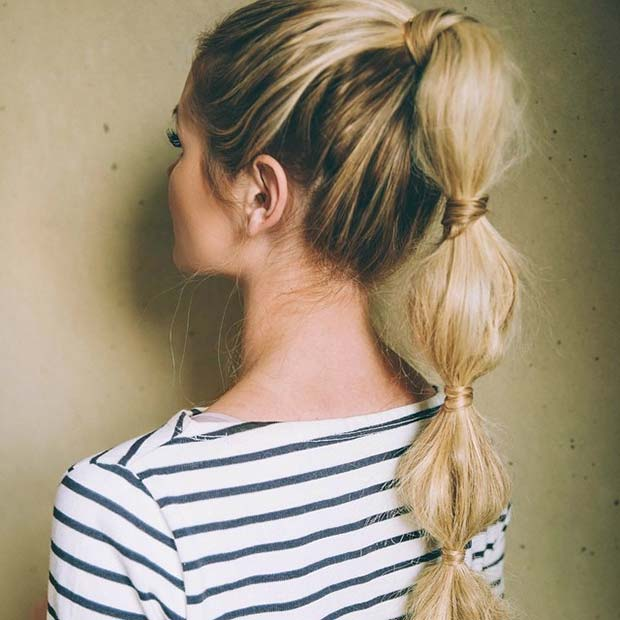 Incredible 30 Cute Ponytail Hairstyles You Need To Try Stayglam Short Hairstyles For Black Women Fulllsitofus
